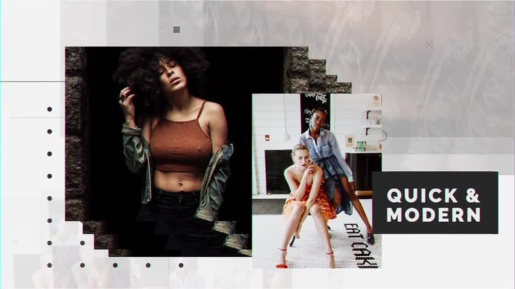 Quick & Modern: After Effects Templates