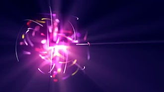Particle Ball: Motion Graphics