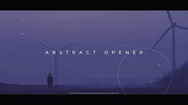 Abstract Opener: Premiere Pro Templates