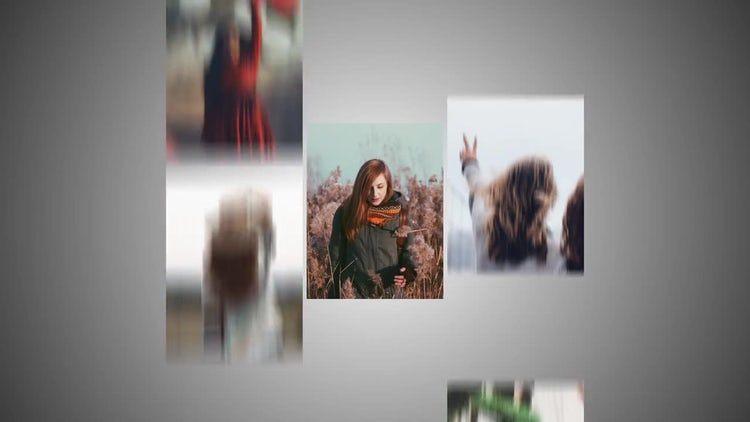 Photo Frames Logo Reveal: After Effects Templates
