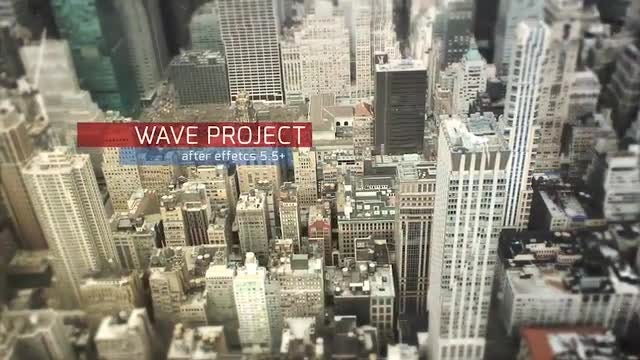 Wave Opener: After Effects Templates