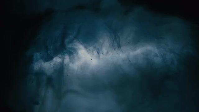 Dark Ink In Water: Stock Video