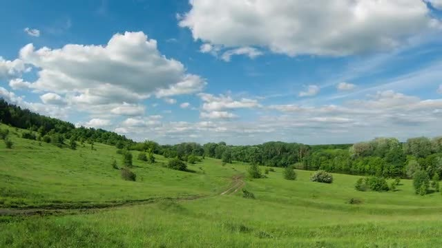 Countryside Time-lapse: Stock Video
