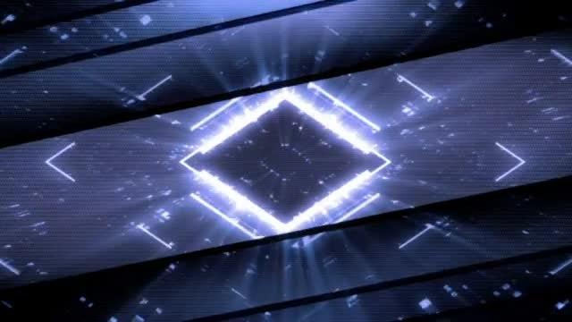 Futuristic Peeking Lights Backgrounds Pack: Stock Motion Graphics