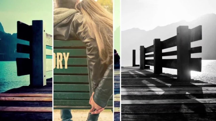 Sliding Image: After Effects Templates