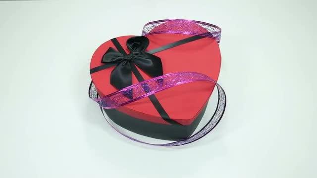 Valentine Chocolate Box: Stock Video