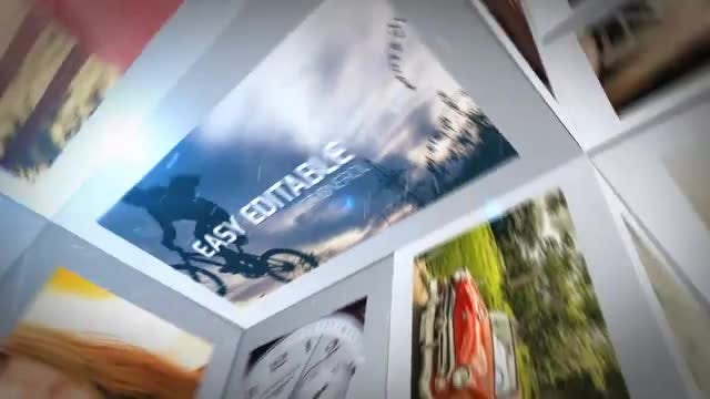 3D Wall Slide: After Effects Templates