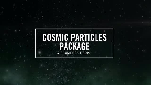 Cosmic Particles: Stock Motion Graphics