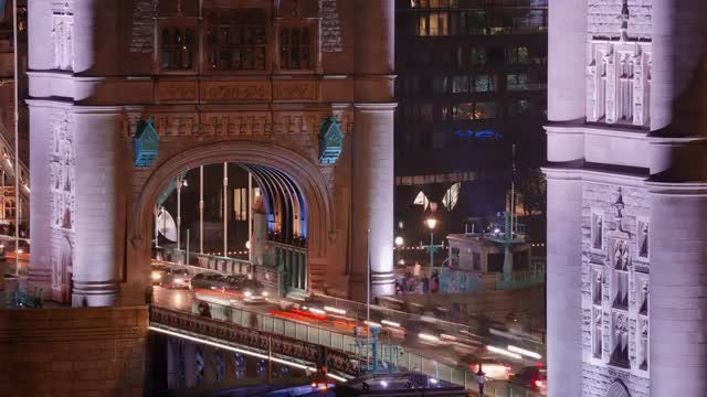 London Traffic: Stock Video