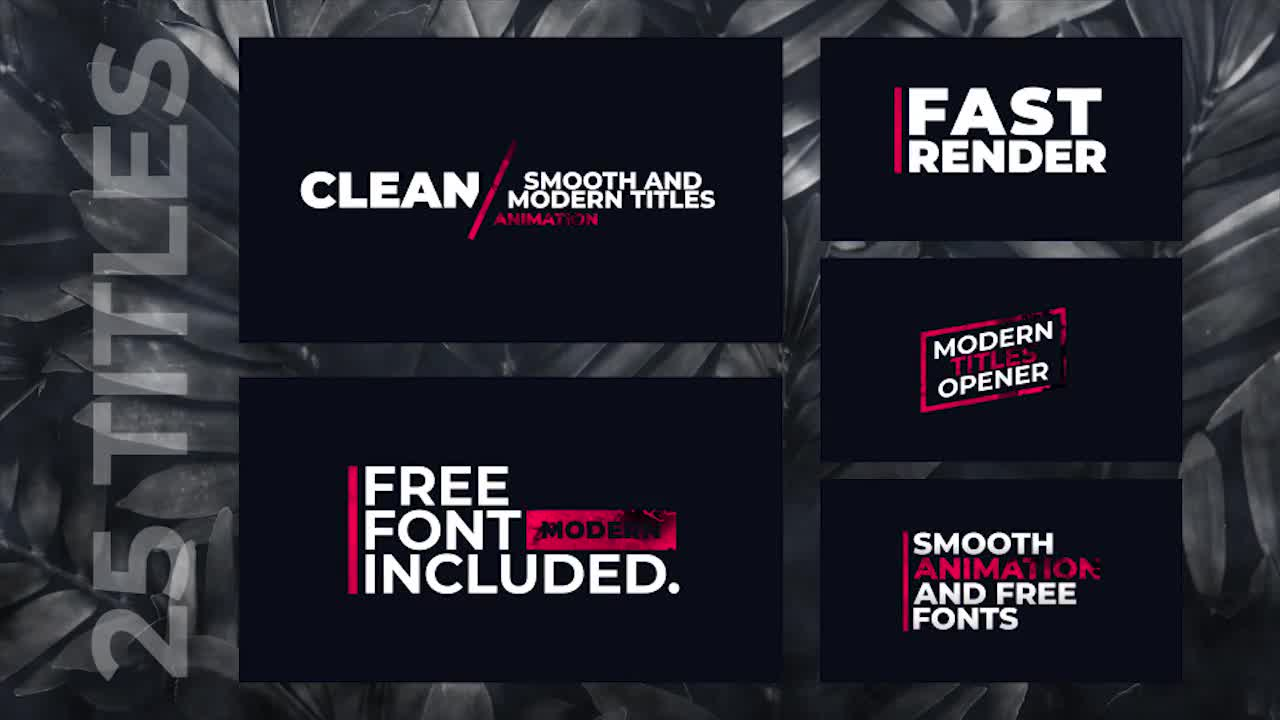 Colorful Corporate Titles Pack - After Effects Templates