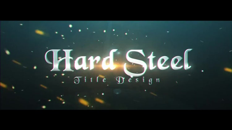 Hard Steel: After Effects Templates