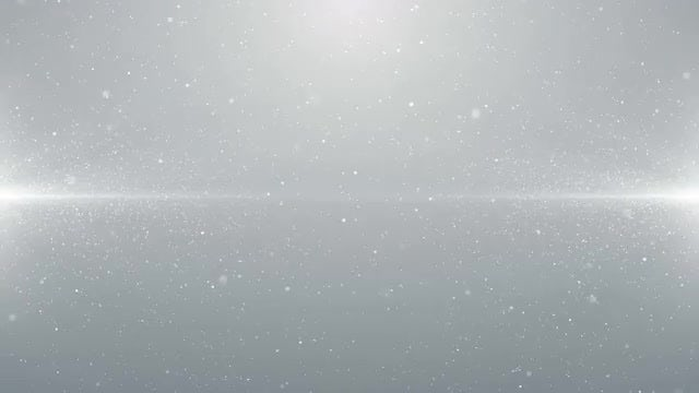 White Particles Background Loop: Stock Motion Graphics