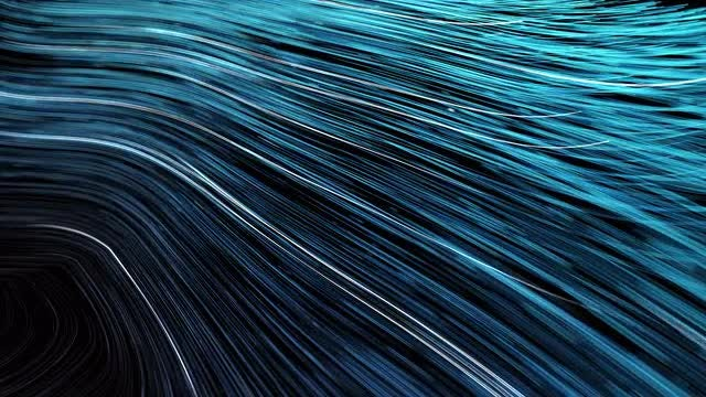 Big Data Flow Background: Stock Motion Graphics