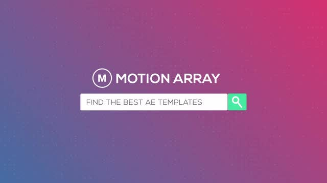 Web Search Logo: After Effects Templates