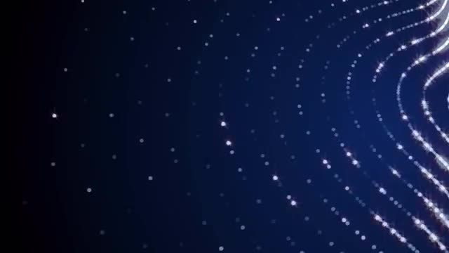Sparkle Particle Waves: Stock Motion Graphics