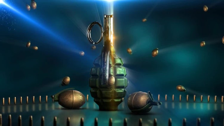 The Grenade: Stock Motion Graphics