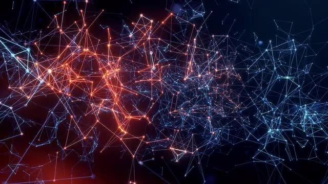 Network Interconnections Activity: Stock Motion Graphics
