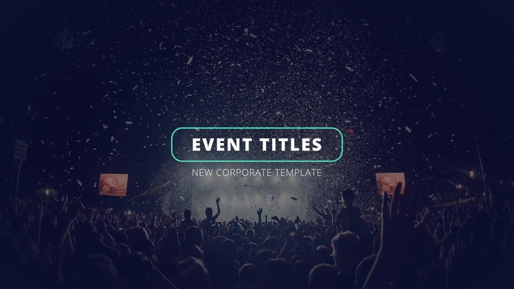 4K Event Corporate Titles: Motion Graphics Templates
