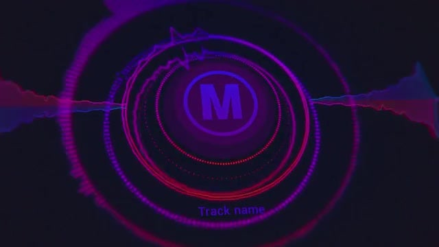 Audio Logo Visualization Loop: After Effects Templates