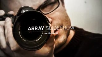 Array Slideshow: After Effects Templates
