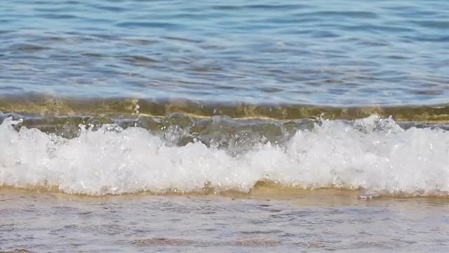 Slow Motion Wave: Stock Video