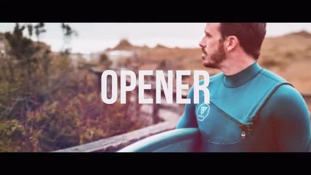 Trendy Media Opener: Premiere Pro Templates