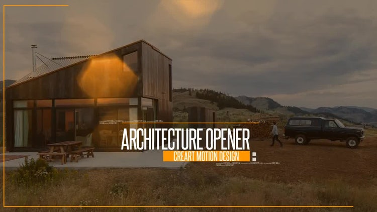 Architecture Opener: After Effects Templates