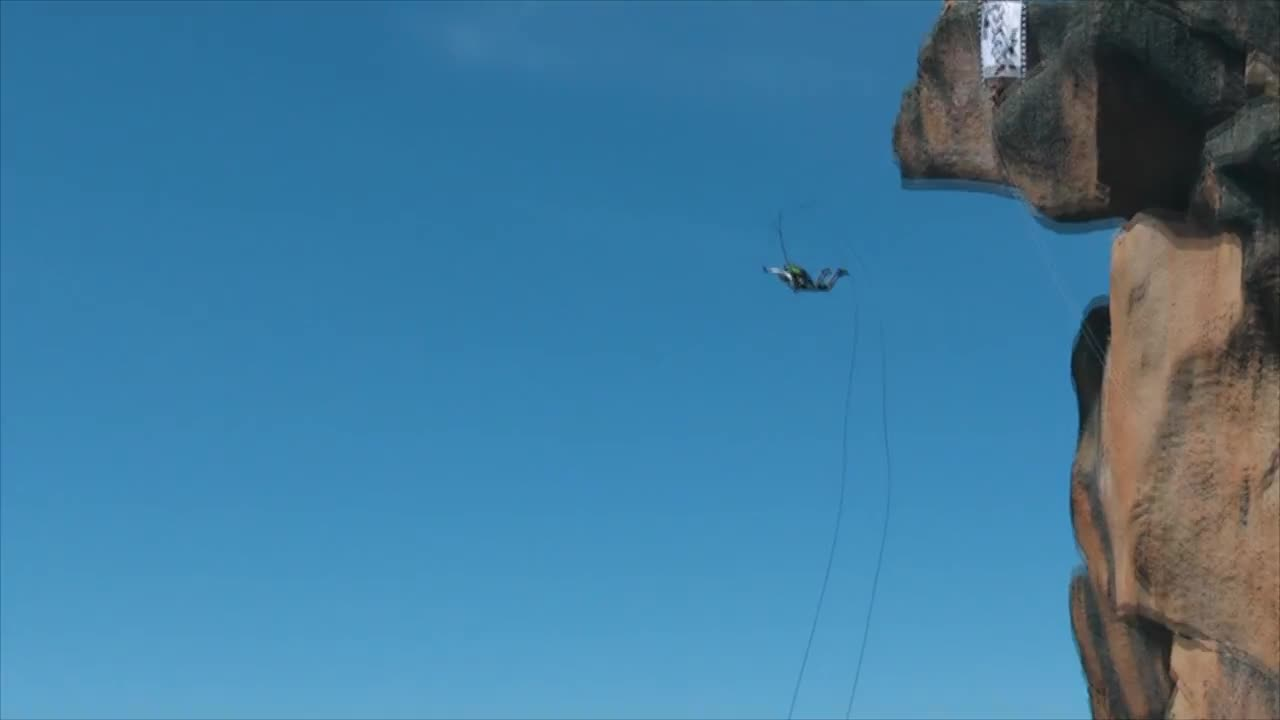 fb662e1c07d3 Bungee Jumping - Stock Video