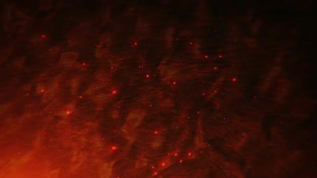 Burning Background: Stock Motion Graphics