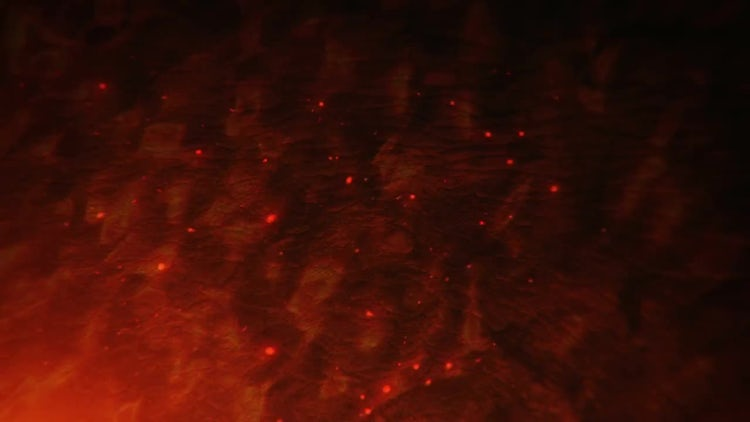 Burning Background: Motion Graphics
