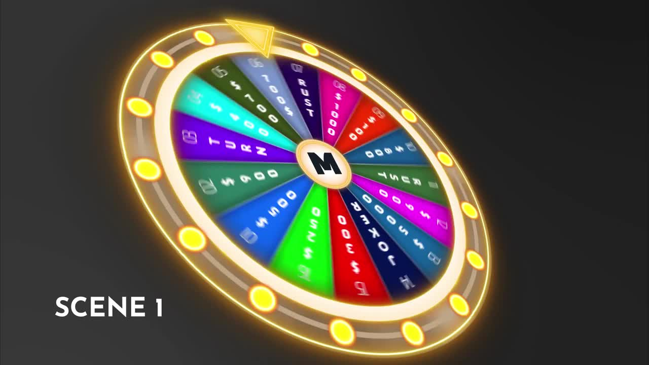 Smart Wheel Of Fortune - After Effects Templates | Motion Array