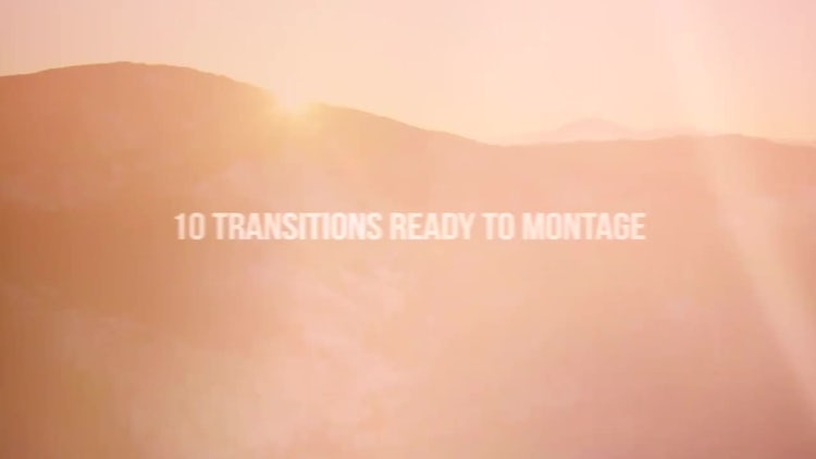 Light & Blur Transitions: Premiere Pro Templates