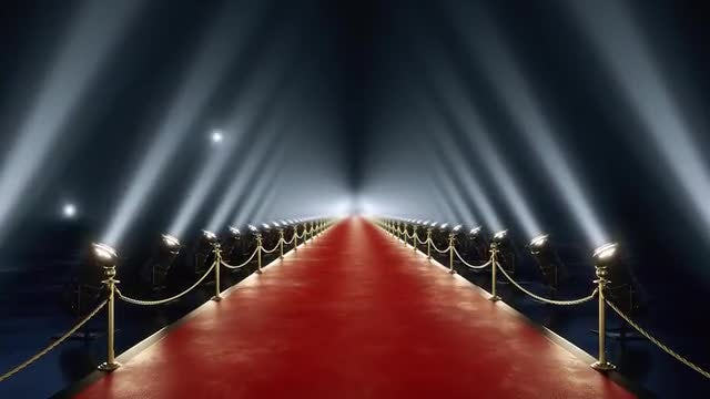 Loop Red Carpet Animation: Stock Motion Graphics