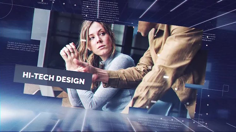 Future Corporate: After Effects Templates