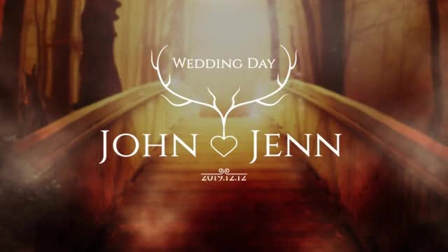 Rustic Wedding Titles Pack: After Effects Templates
