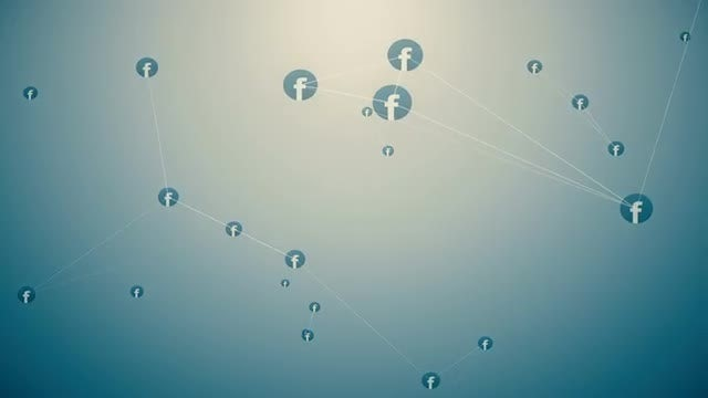 Facebook Network Animation: Stock Motion Graphics
