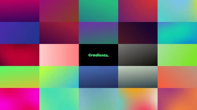 Gradients: After Effects Presets
