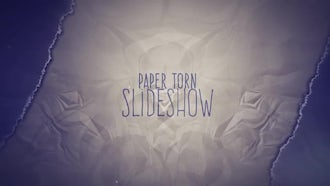 Paper Torn Slideshow: After Effects Templates