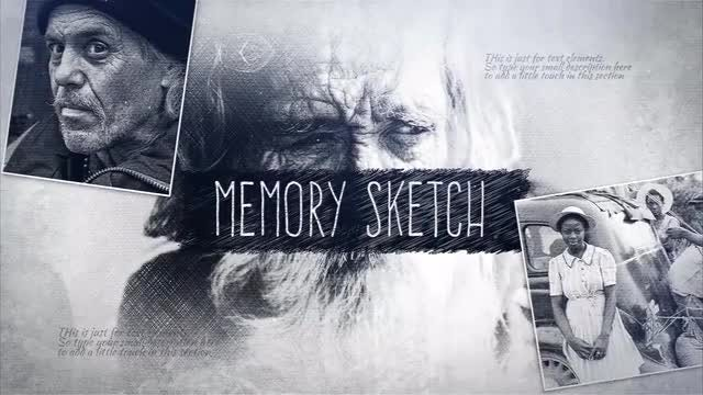 Memory Sketch: After Effects Templates