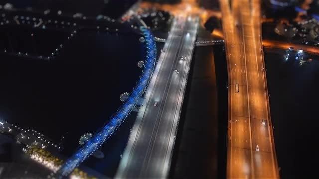 Singapore Traffic: Stock Video