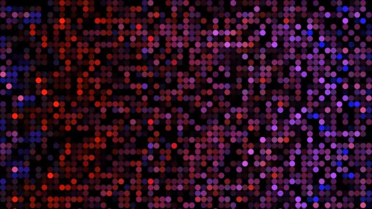 Dots Motion Background: Motion Graphics