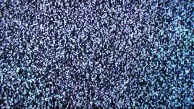 Analog Old TV Noise: Stock Video