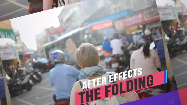 The Folding: After Effects Templates
