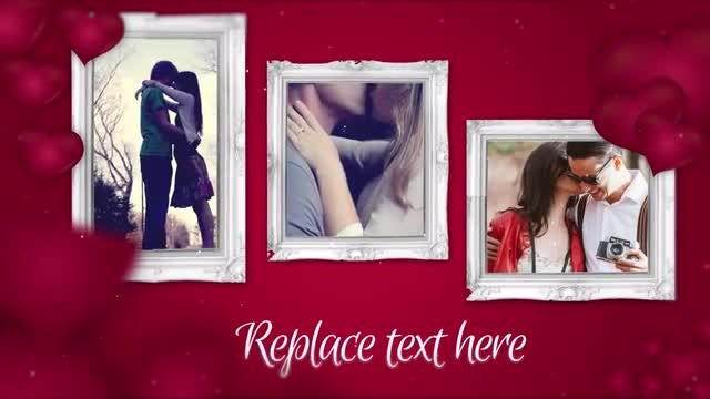 Valentine Photo Gallery: After Effects Templates