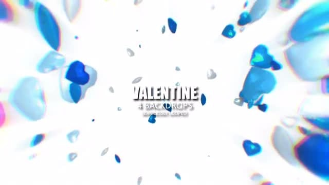 Valentine Gems Cascade Pack: Stock Motion Graphics