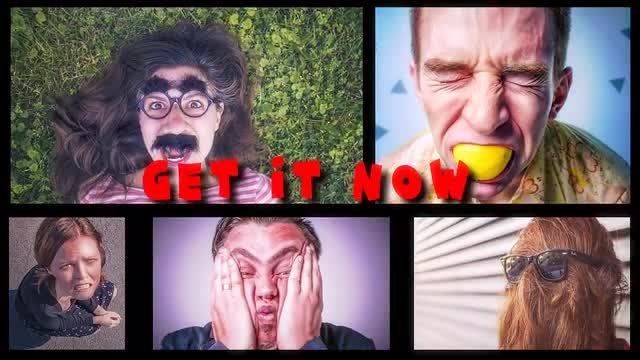 Dynamic Funny Slideshow: After Effects Templates