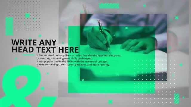 Business Slides: After Effects Templates