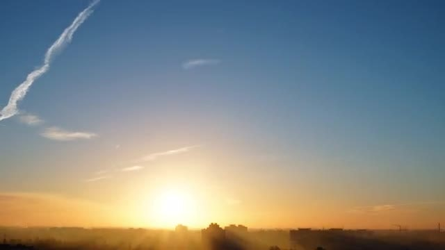 The Early Morning On The City time lapse: Stock Video