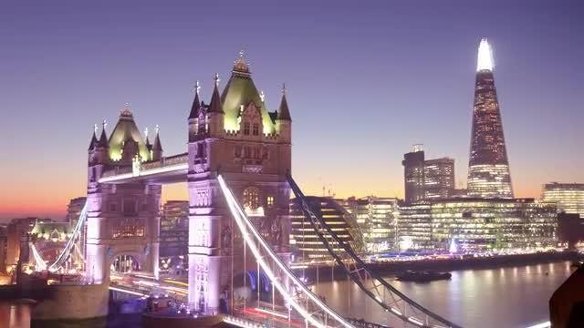 London: Stock Video