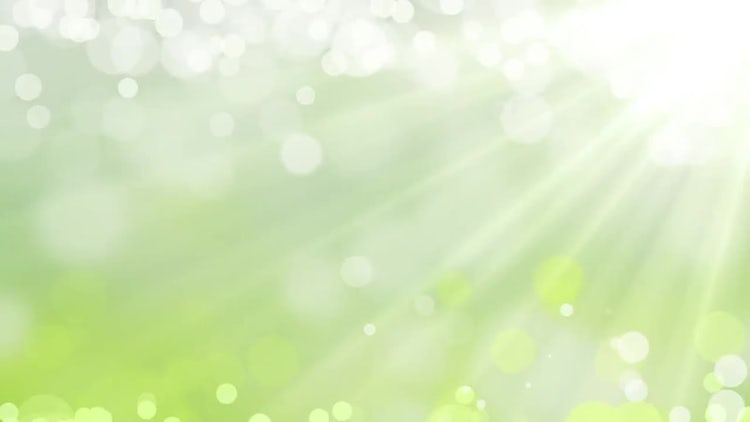 Green Light Shine Background : Motion Graphics